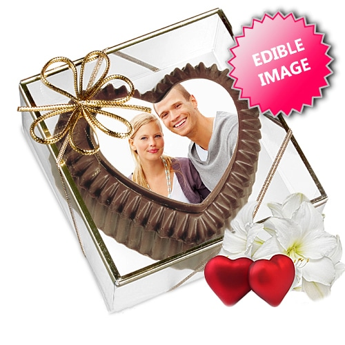 Valentine's Chocolate Heart Box